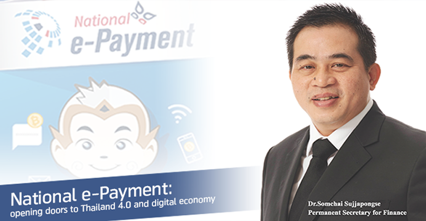 National e-Payment: opening doors to Thailand 4.0 and digital economy
